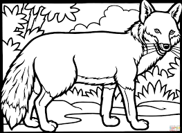 Small Picture Red Fox Coloring Page Free Printable Coloring Pages Coloring Home