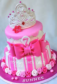 Sweet Girly Cake Like The Roses At The Base Instead Of The Balls