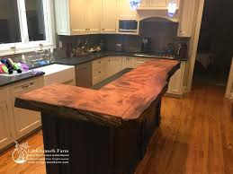 wooden countertops for redwood live edge wood slab natural wood live edge natural wood wooden