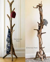 DIY Branches Coat Rack Design