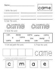 Dolch Primer Sight Word Printables Pinterest Sight Words