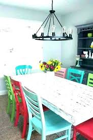 Colorful Dining Room Tables Cool Design