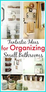 Bathroom Closet Organization Ideas Custom 48 Fantastic Small Bathroom Organizing Ideas DIY Ideas Pinterest