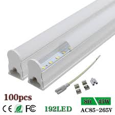 T5 Shop Lights Us 1247 89 8ft 96 T5 Integrated Single Fixture Cabinet Ceiling Shop Led Tube Light Plug Play Fluorescent Lamp Bulb Milky Ac85 265v 45w In Led