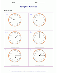 Time worksheets for grade 2 strong tell five minutes – ideastocker
