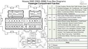 2003 350z Wire Diagram Engine Components 350Z