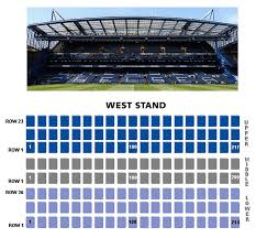 Stanford Stadium Seating Chart 3d Seating Plan Official Site Chelsea Football Club
