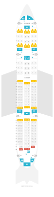 Seat Map Boeing 787 8 788 V2 Ana Find The Best Seats On A
