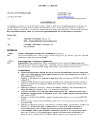 Medical Scribe Resume Example