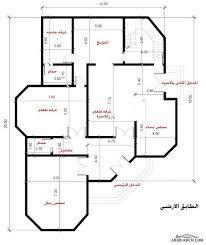 مخطط فيلا بيوت الغربية الخرائط مساحه الارض 450 متر مربع arab arch. فيلا المدينة المنورة تصميم خاص لاحد العملاء My House Plans Basement House Plans Small House Design Plans