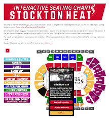 Stockton Arena Seating Chart Digital Media Brandon Kisker