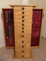 picture of jewelry armoire