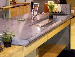 Poured Concrete Kitchen Floor Concrete Countertop Designs