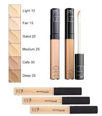 Maybelline Fit Me Colour Chart Maybelline Fit Me Concealer My Favourite Drugstore