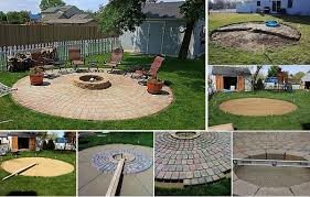 simple patio designs with fire pit. Simple Pit DIY Fire Pit U0026 Patio Project In Simple Designs With F