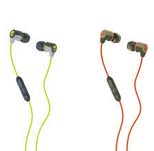 skullcandy earbuds portable audio headphones skullcandy riff earbuds in choice of color mic new