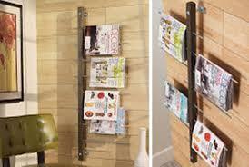 office depot magazine rack. Wall Mounted Magazine Rack 5 Pocket Office Depot