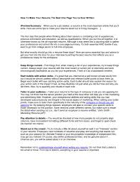 how to make resume one page info how to make resume one page getessay biz
