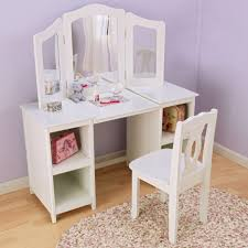 girls bedroom vanity. large size of bedroom ideas:wonderful brown wooden bunk with ladder connected by dressing table girls vanity t