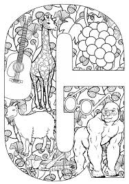 Things That Start With G Free Printable Coloring Pages Teaching