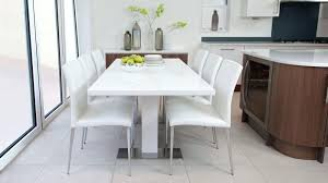 white dining table and chairs large high gloss round 6 extendable modern rectangular white high gloss and glass dining table with 4 chairs