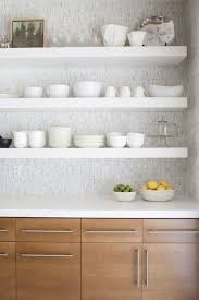 Chunky White Floating Shelves