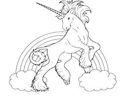 Unicorn Rainbow Coloring Pages Rainbow Unicorn Coloring Pages Dr Schulz
