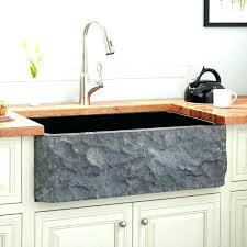 pro farmhouse a front stainless steel in single bowl kitchen sink 30 white baldwin fireclay n