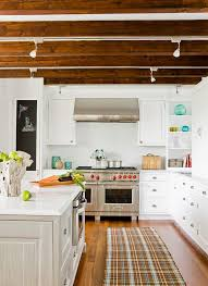 Wood ceiling kitchen Plank Ceiling Homedit 20 Architectural Details Of Standout Ceiling