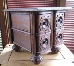 Old Sewing Machine Drawers
