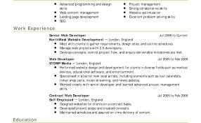 Theatre Resumes Technical Theatre Resume Guide Visualcv Theater