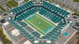 Miami Dolphins Hard Rock Stadium Seating Chart Miami Dolphins Virtual Venue By Iomedia
