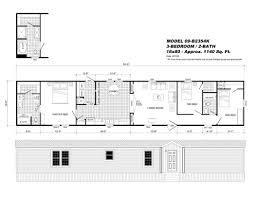 single wide mobile home floor plan pin
