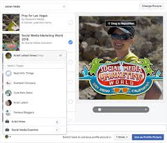 facebook frames can also be applied to profile and page photos