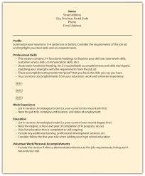 Fair Resume Name and Address Headings for Packaging Resume Samples