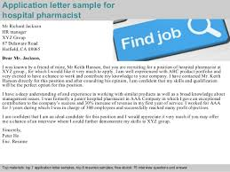 Application Letter For A Pharmacist Job Write A Good Essay Anytime
