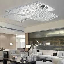 creative of led flush mount ceiling lights rectangle led crystal flush mount ceiling light fixture bulbs