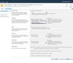 sharepoint workflow templates download set up an approval workflow in sharepoint 2010 dummies