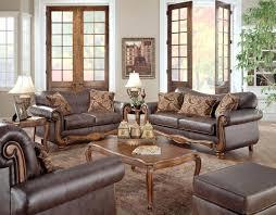 traditional living room furniture sets. Traditional Living Room Furniture Classic Sets Square White Ottoman Coffee Table Brown Sofa