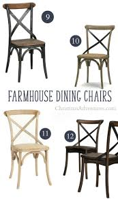 best secret sources to x back farmhouse dining chairs