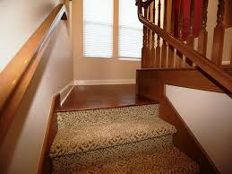 Home Decor Cool Carpeted Stair Treads And Pattern Carpet Treads