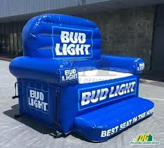 bud light inflatable couch chair nfl recliner bud light colts chair nfl