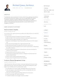 Architect Resume Writing Guide 12 Samples Pdf 2019