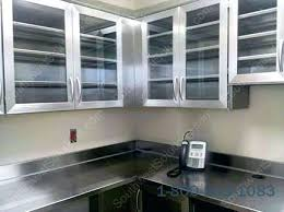 stainless steel casework cabinets manufactured modular regarding stainless steel cabinet doors plans stainless steel kitchen cabinet