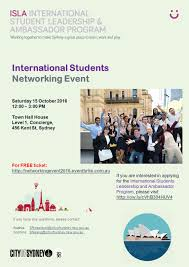 networking flyer international students networking event apic website