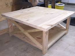 various rustic square coffee table of large
