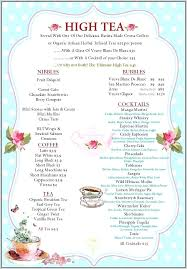 High Tea Baby Shower Invites Templates Afternoon Party