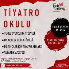 Gaziantep'te Tiyatro Okulu açılıyor - Gaziantep Haberleri   Son Dakika  Gaziantep Haberler   G