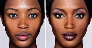 image the real issue is that women like to look flawlesen