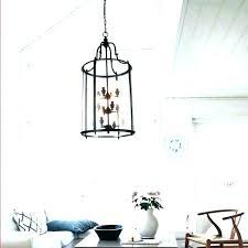 lantern style foyer chandelier lantern